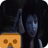 VR horror 3D icon