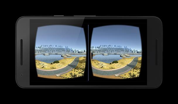 VR walk around the lake apk screenshot