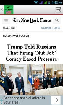 US Newspapers screenshot 3