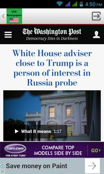 US Newspapers screenshot 4