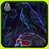 Lock Screen - Skull Raven icon