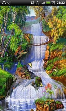 Autumn Waterfalls L WALLPAPER poster
