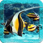 Angel Fish Live Wallpaper icon