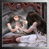 Angel in Mirror Live Wallpaper icon
