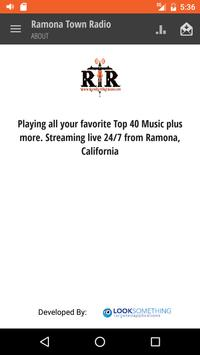 Ramona Town Radio screenshot 3