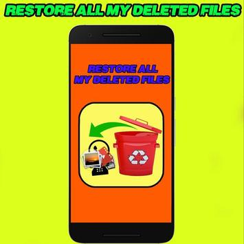 Recover All Deleted Files - Photos And Videos poster