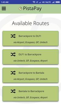 PistaPay - Kolkata's very own Shuttle Service screenshot 2