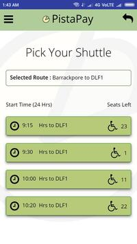 PistaPay - Kolkata's very own Shuttle Service screenshot 3