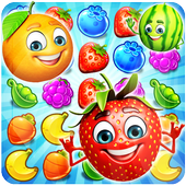Sweet Fruit Candy - Match 3 Game icon