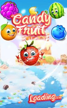 Sweet Fruit Candy - Match 3 Game poster