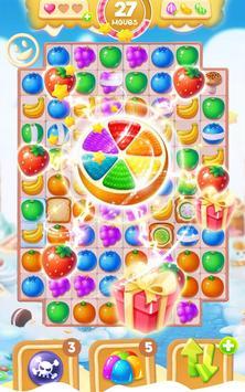Sweet Fruit Candy - Match 3 Game apk screenshot