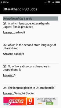 Uttarakhand PSC Jobs apk screenshot