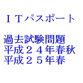 ITパスポート試験 過去問題 平成24・25年 icon