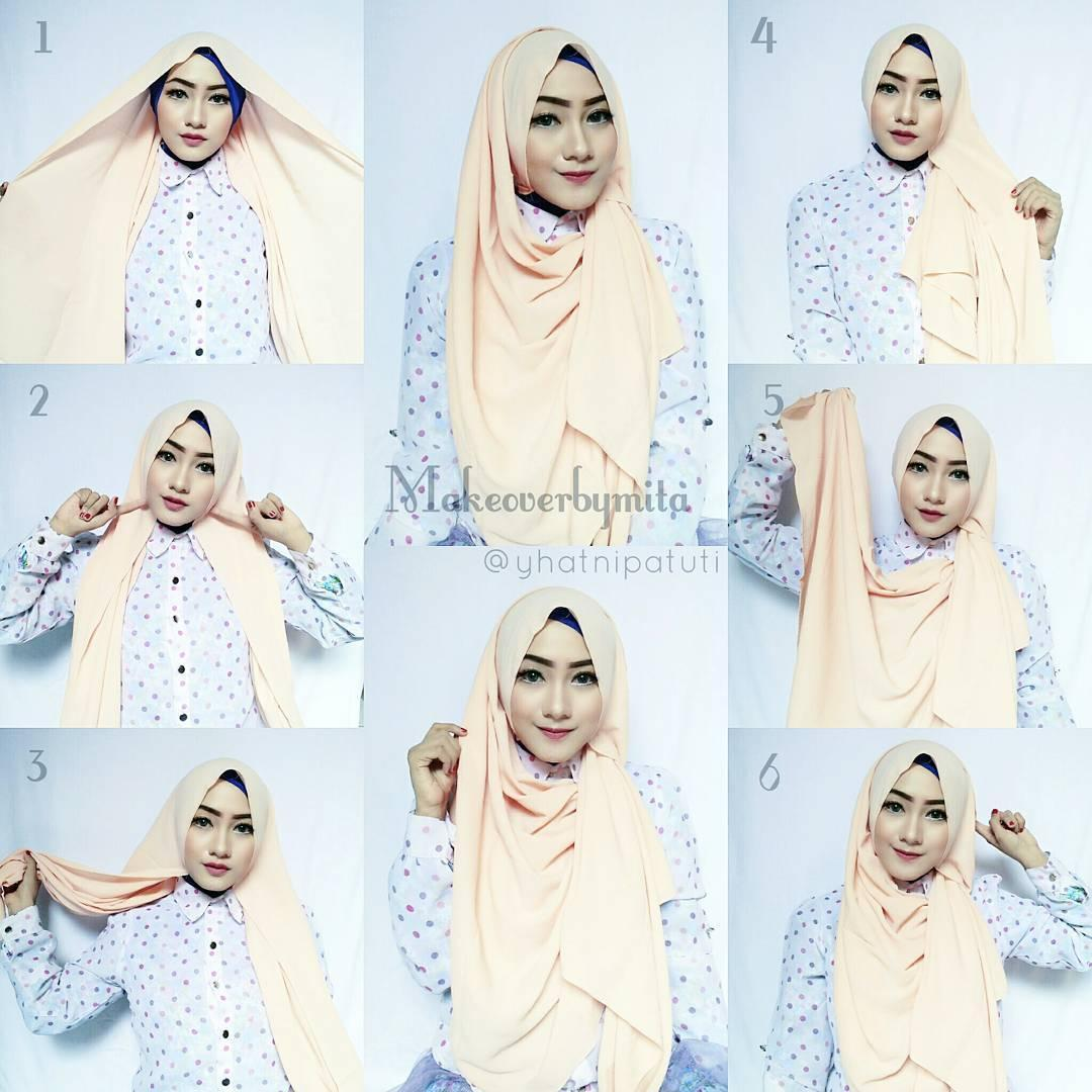 Foto Tutorial Hijab Pashmina Fur Android Apk Herunterladen