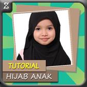Tutorial Hijab Anak icon