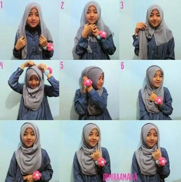 Tutorial Hijab Casual poster