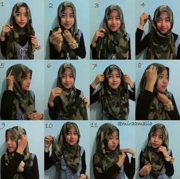 Tutorial Hijab Casual screenshot 2