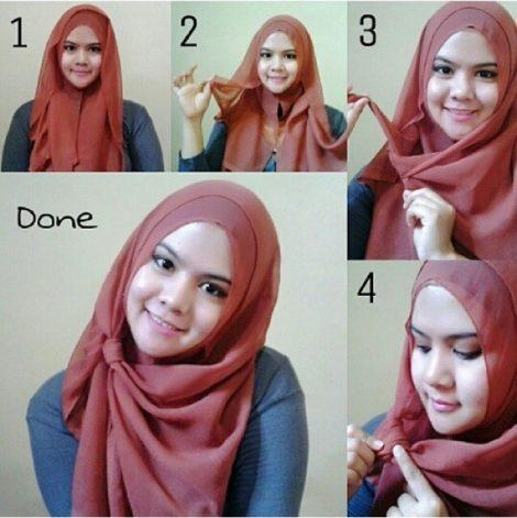 Tutorial Hijab Persegi Empat For Android Apk Download
