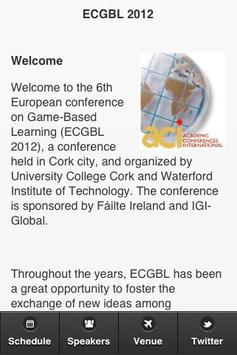 ECGBL 2012 poster