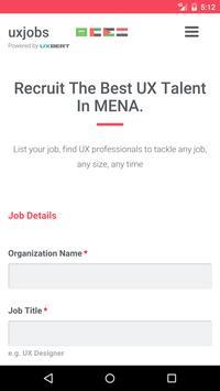 UX Jobs apk screenshot