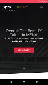 UX Jobs poster