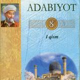 Adabiyot 8-sinf. I qism