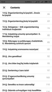 Biologiya 10-sinf screenshot 4