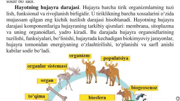 Biologiya 10-sinf screenshot 6