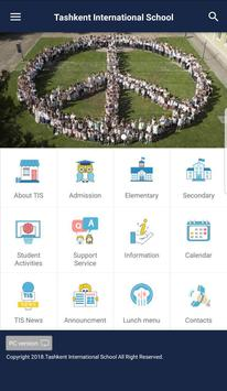 Tashkent International School App screenshot 1