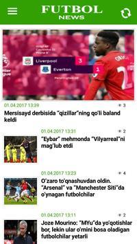FutbolNews screenshot 1
