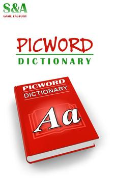 Picword dictionary poster