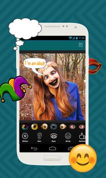 Crazy Funny Face Changer apk screenshot