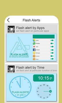 Flash Alert on Call/SMS screenshot 4