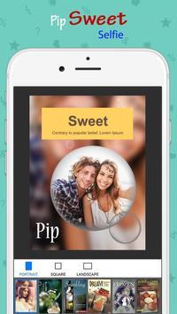 PIP Camera: 143 Sweet Selfie apk screenshot