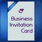 Business Card Invitation Maker & Poster Ads Maker icon
