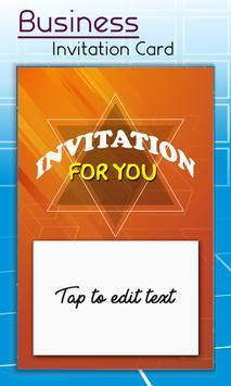 Business Card Invitation Maker & Poster Ads Maker screenshot 2