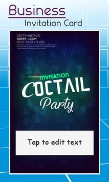 Business Card Invitation Maker & Poster Ads Maker screenshot 3