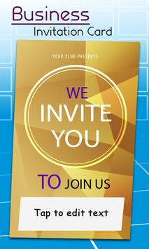 Business Card Invitation Maker & Poster Ads Maker screenshot 4