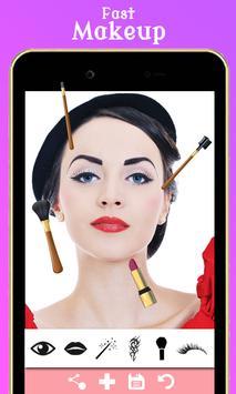 Face Makeup & Beauty HD Camera poster