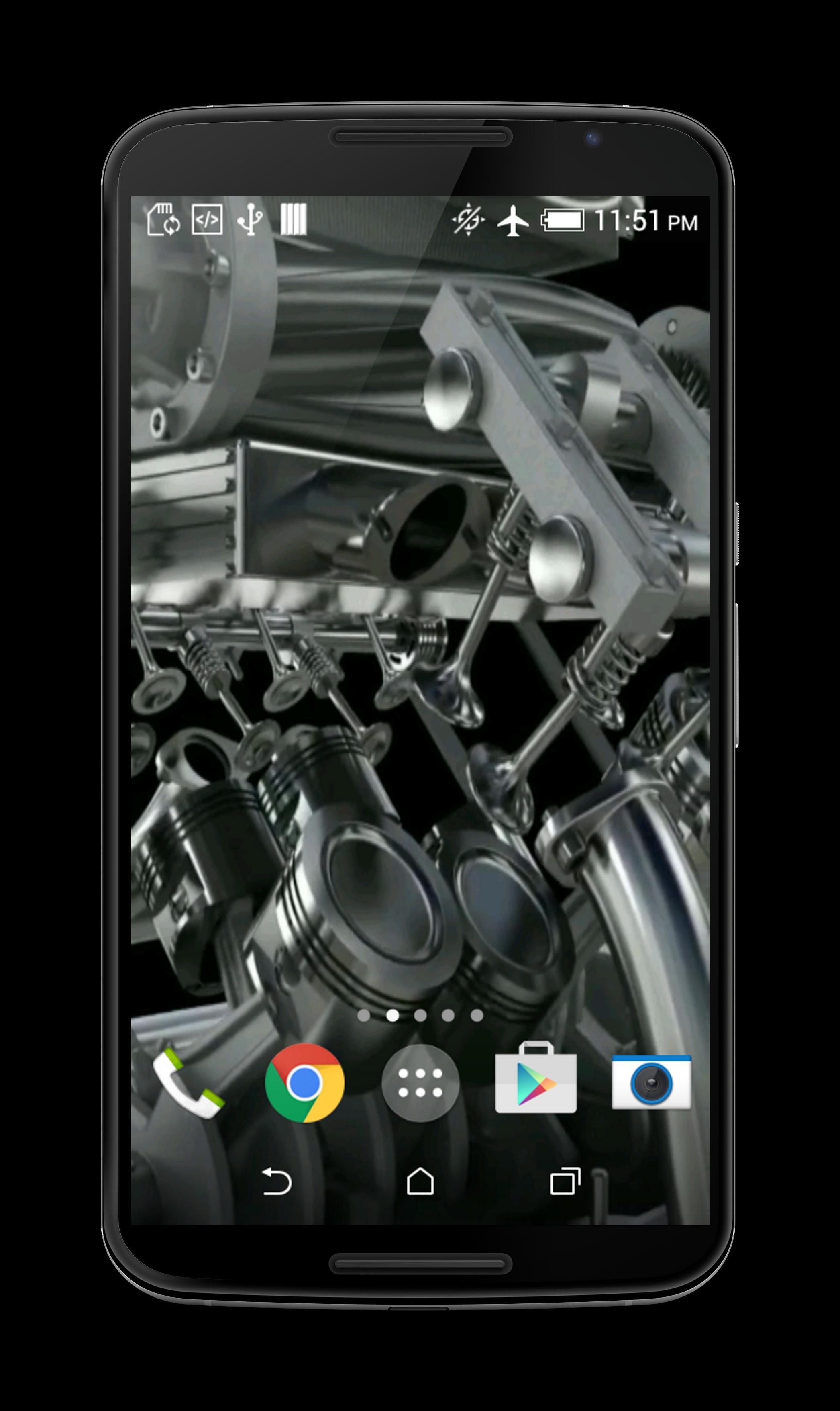 V8 Engine 3D Live Wallpaper for Android - APK Download