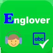 Englover: Học tiếng anh mỗi ngày, học ngữ pháp icon
