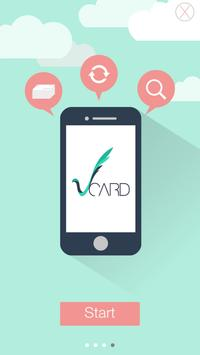 VCard apk screenshot