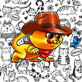 Coloring Book ( Cat Adventure ) icon