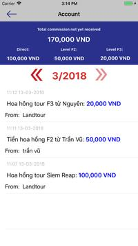 Landtour screenshot 2