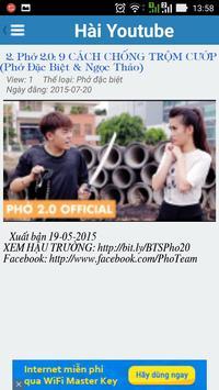 Hài Youtube screenshot 3