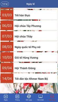 Lịch Vạn Niên - Lịch Việt screenshot 3