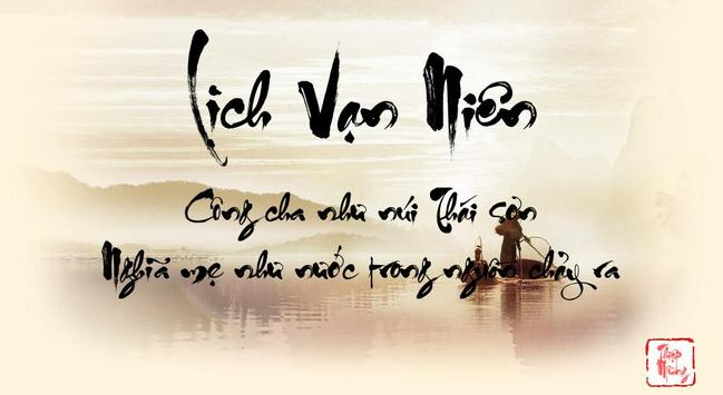 Lịch Vạn Niên - Lịch Việt poster