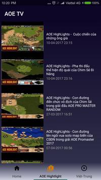 Truc Tiep AOE screenshot 14