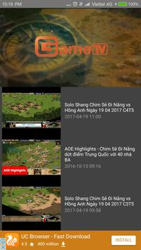 Truc Tiep AOE screenshot 2