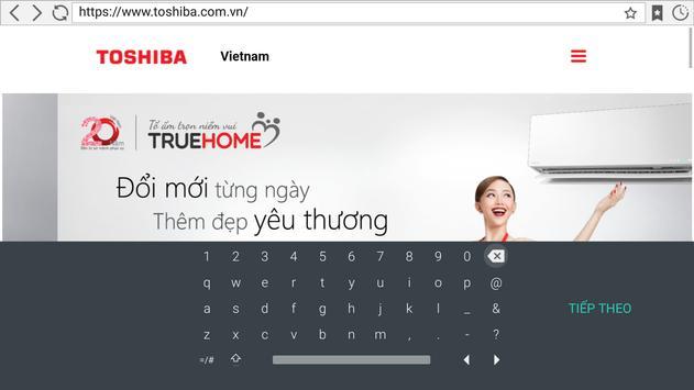 Website apk screenshot